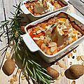 Ricotta rôtie au four et ses fruits jaunes au romarin