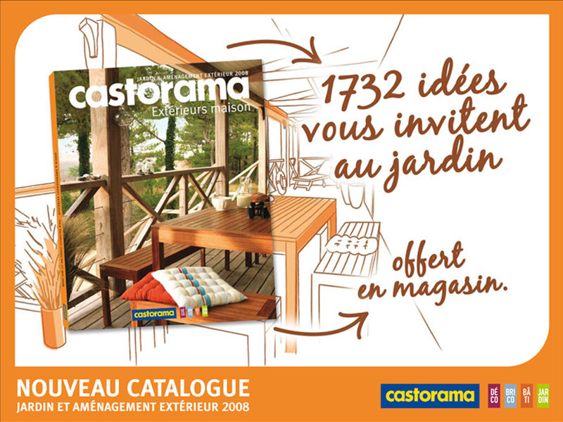 lancement catalogue jardin photo de campagne catalogue castorama artdirectorz. Black Bedroom Furniture Sets. Home Design Ideas