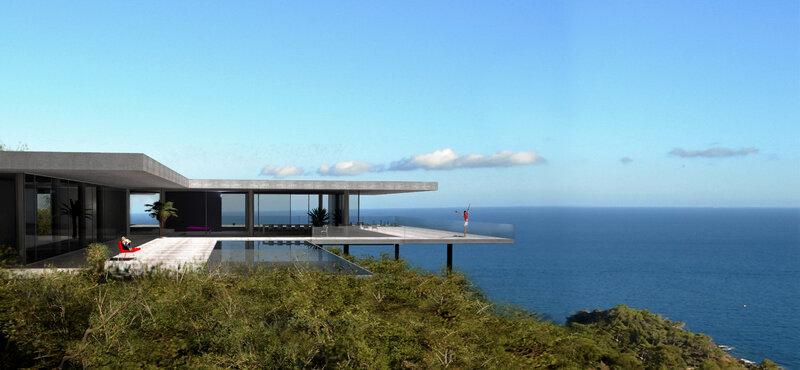 villa design architecte saint tropez