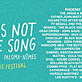 This is not a love song festival (part 1) - vendredi 01 juin 2018 - nimes