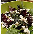 Salade de betteraves à la feta