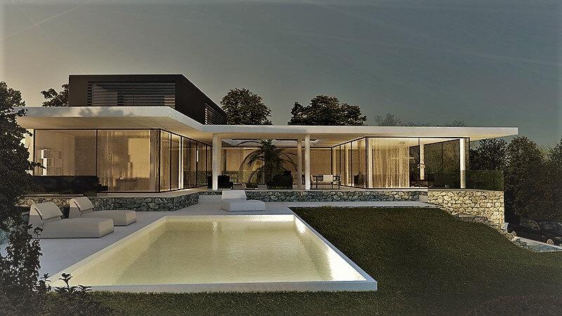 Maison contemporaine aix en provence architecte maison moderne