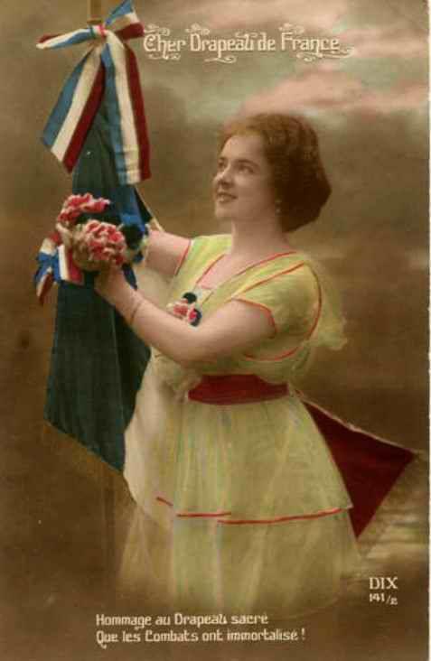 Hommage au drapeau