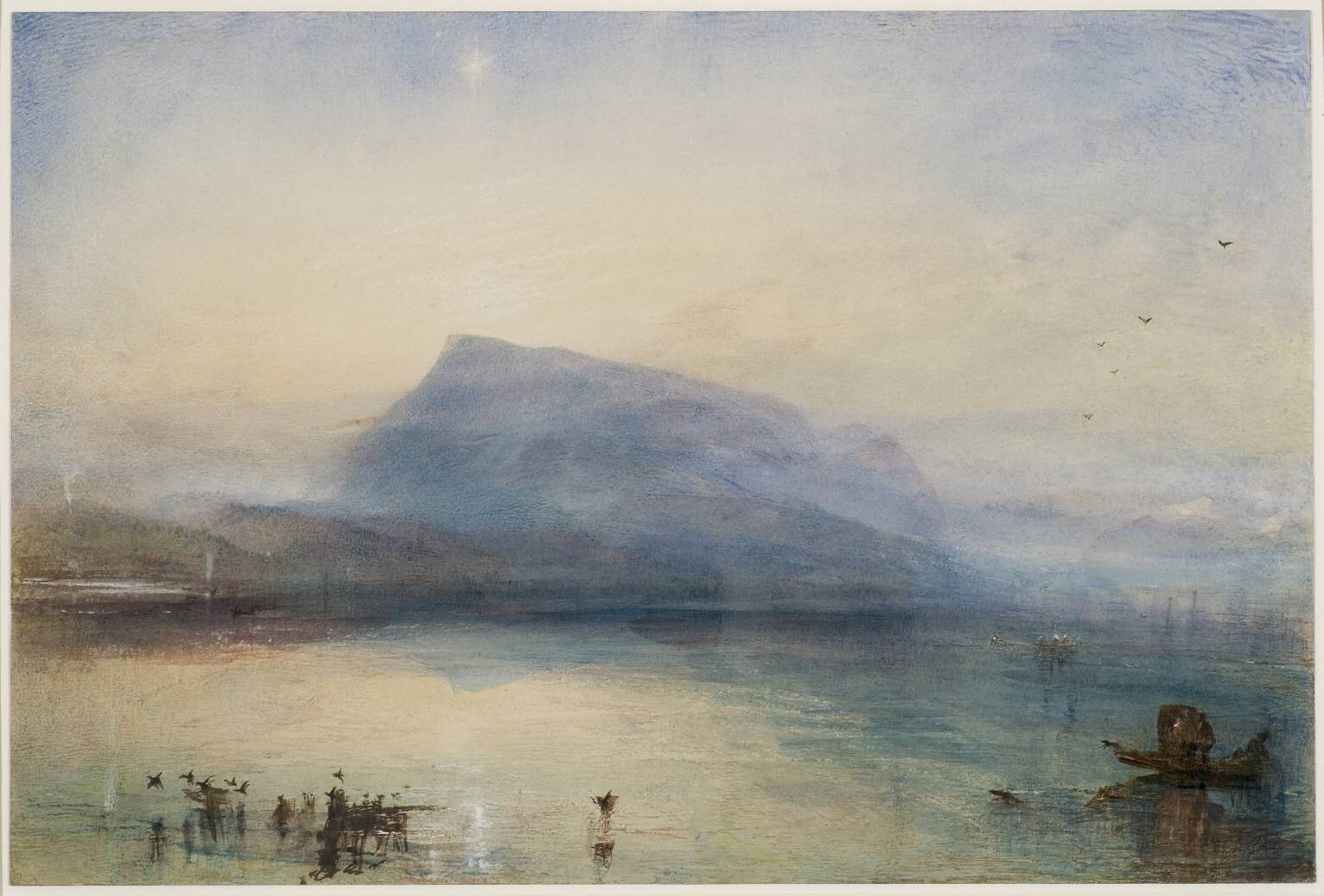 Image result for Turner. The Sea and the Alps