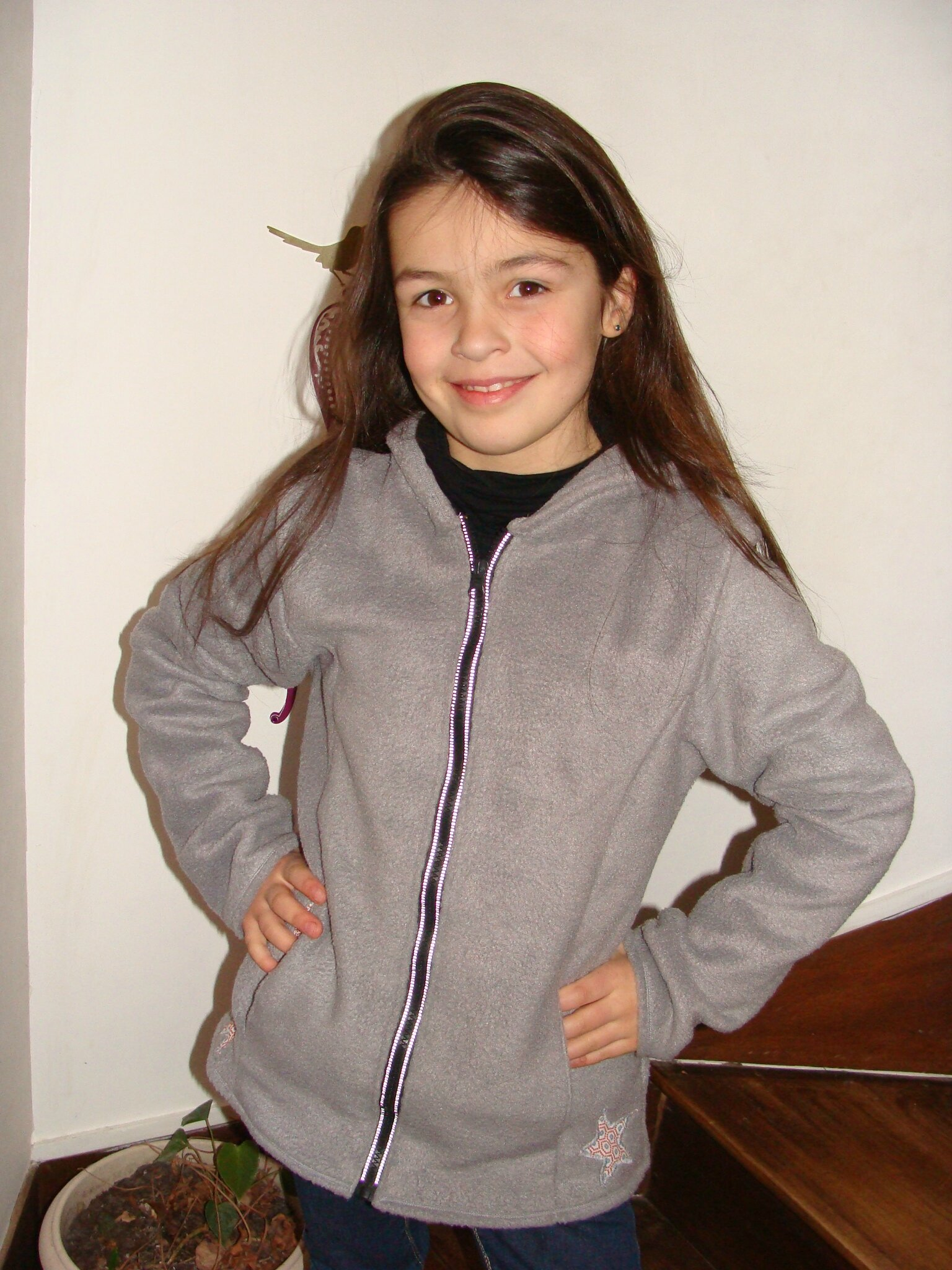 gilet zip up en 12 ans