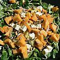 Salade mâche, féta, melon...fresh !