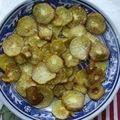 Chips de kiwi salées