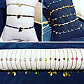 New: bracelets et colliers by johanne