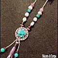 Collier Shabby Chic .CO 32