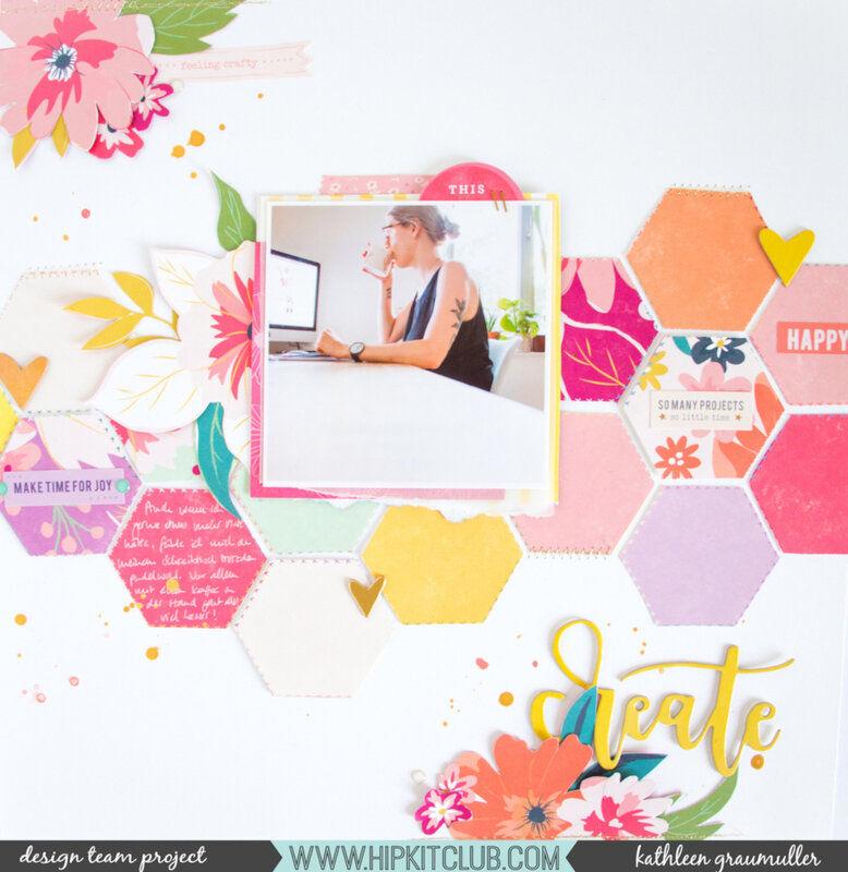 Create_ScatteredConfetti_ScrapbookingLayout_HipKitClub_October_PinkPaislee_Whimsical_1