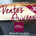 Exceptionnelles ventes privées guy demarle