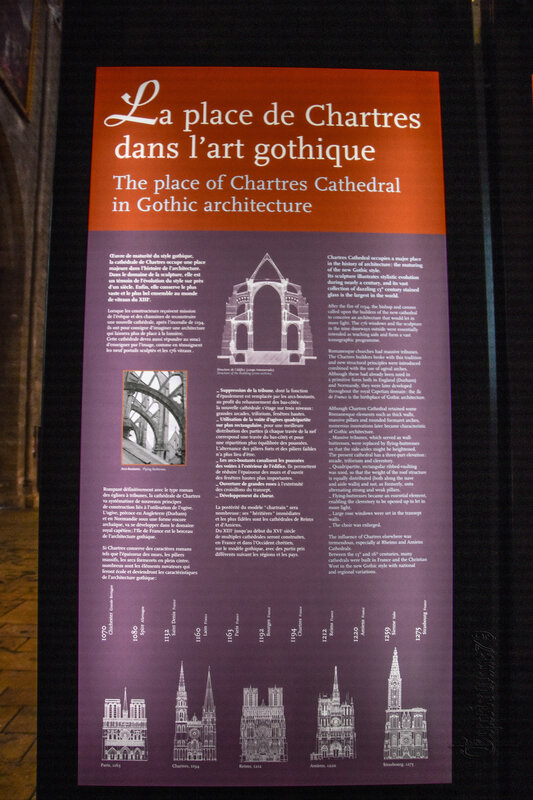 A history of Chartres Cathedrale – Time Travel (3)