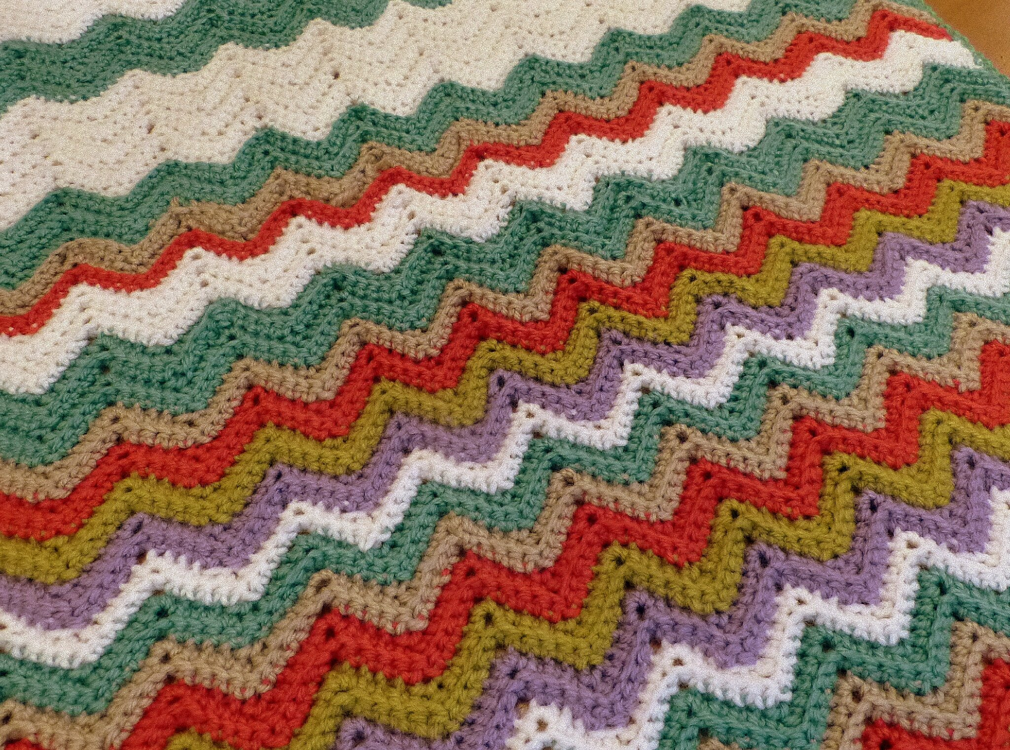 couverture BB ripple afghan au crochet