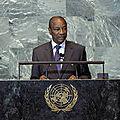 ONU - PRG Alpha CONDE - GUINEA IS BACK