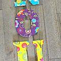 Lettres décorées