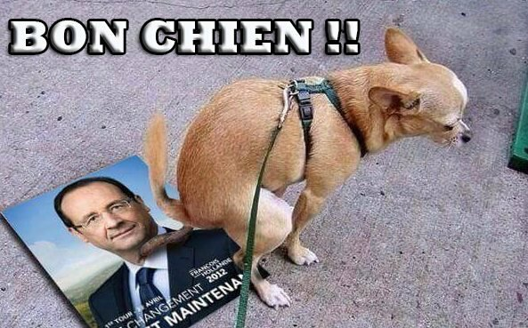 ps hollande grosse merde humour