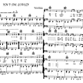 Isn't she lovely (partition - sheet-music)