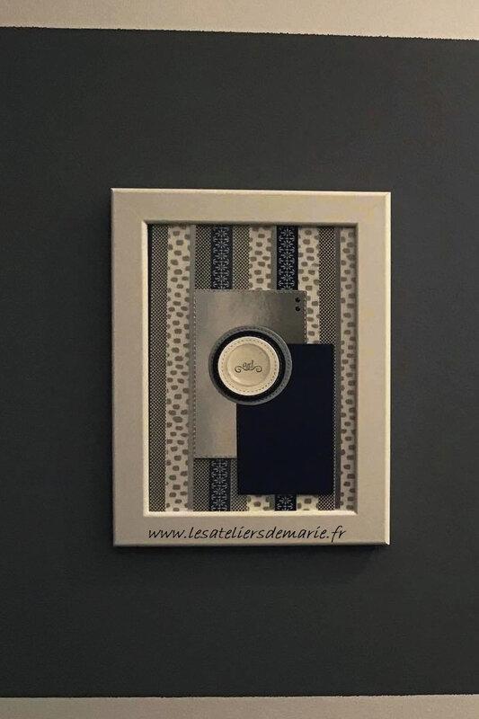 cadre 6 washi tape