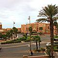 Vue de l'hôtel Tiznit