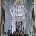 Beauvais - cathédrale - choeur gothique