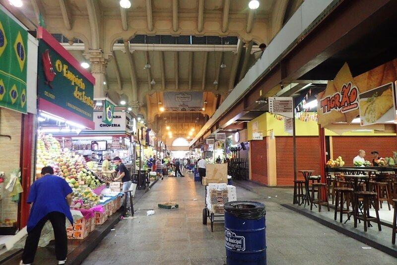 Sao Paulo : le marché