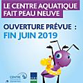 Ré-ouverture du centre aquatique d'alfortville