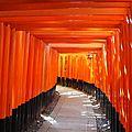 Notre voyage au japon - kyoto 2eme jour - fushimi inari - nishiki - nanzen ji
