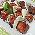 Salade de figues mozzarella