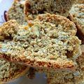 Biscotti à la farine de châtaigne et graines de pistache
