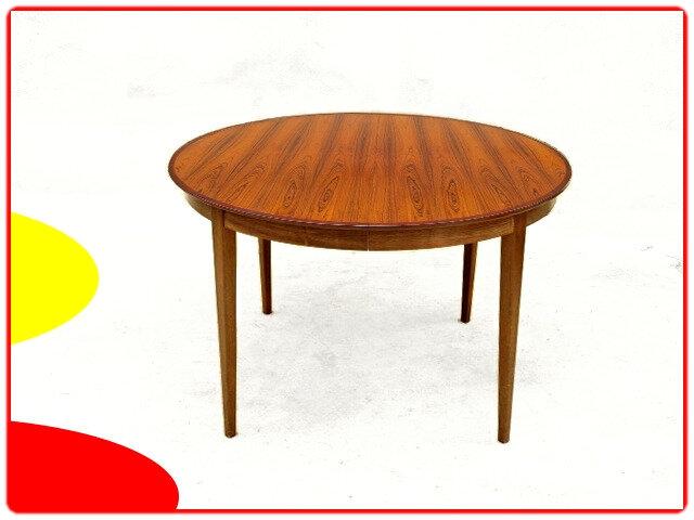 table de repas palissandre décoration scandinave