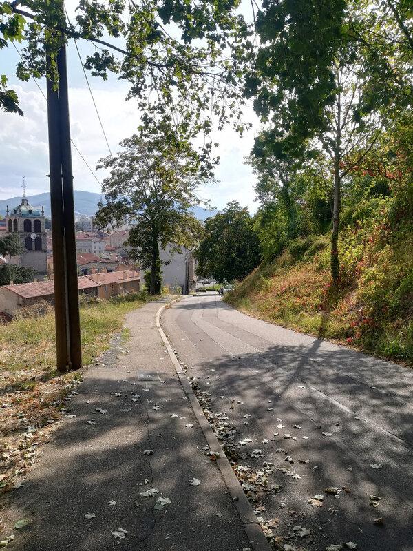 rue Pichelière descente, 9 sept 2018, vers 16 h 30