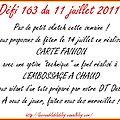 défi 163