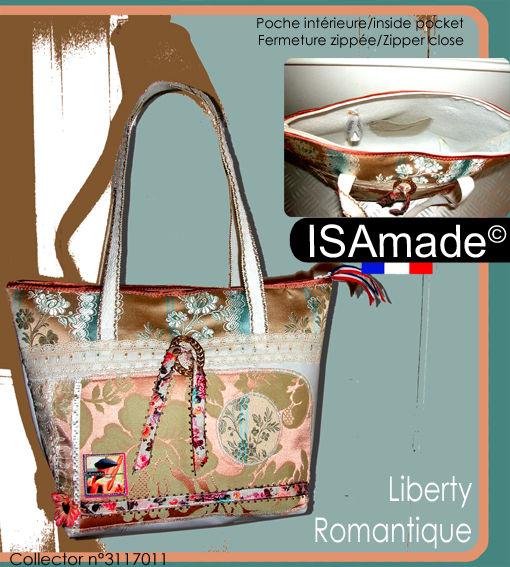 «Liberty romantique» collector n°3117011 Hauteur 25cm Largeur 35
