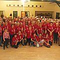 Bénévoles à l'honneur: les highland games voient rouge