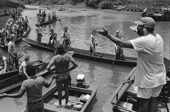 Francis Ford Coppola DirectingApocalypse NowPagsanjanPhilippines 1976