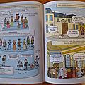 Versailles et la préhistoire en bd