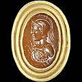 A roman carnelian intaglio. circa 1st century a.d.