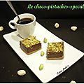 Le choco-pistache-speculoos