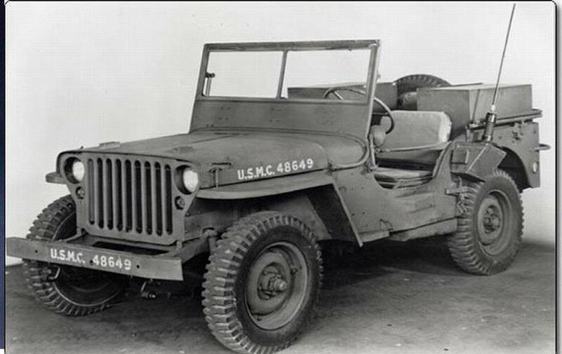 1941 - Jeep Wyllis MB Ford GPW (1941-1945)