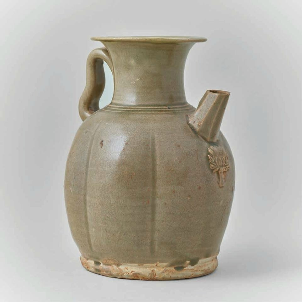 Changsha Celadon Ewer, Tang Dynasty, 9th c