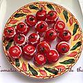 Tomates cerise aux rillettes de thon