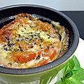 Tomate à la mozzarella très simple et fraiche
