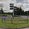 Rond-point à sint-oedenrode (pays-bas)