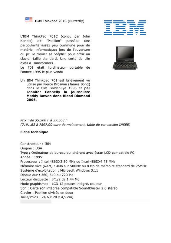 IBM Thinkpad 701C -1