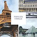 Visiter paris avec des enfants