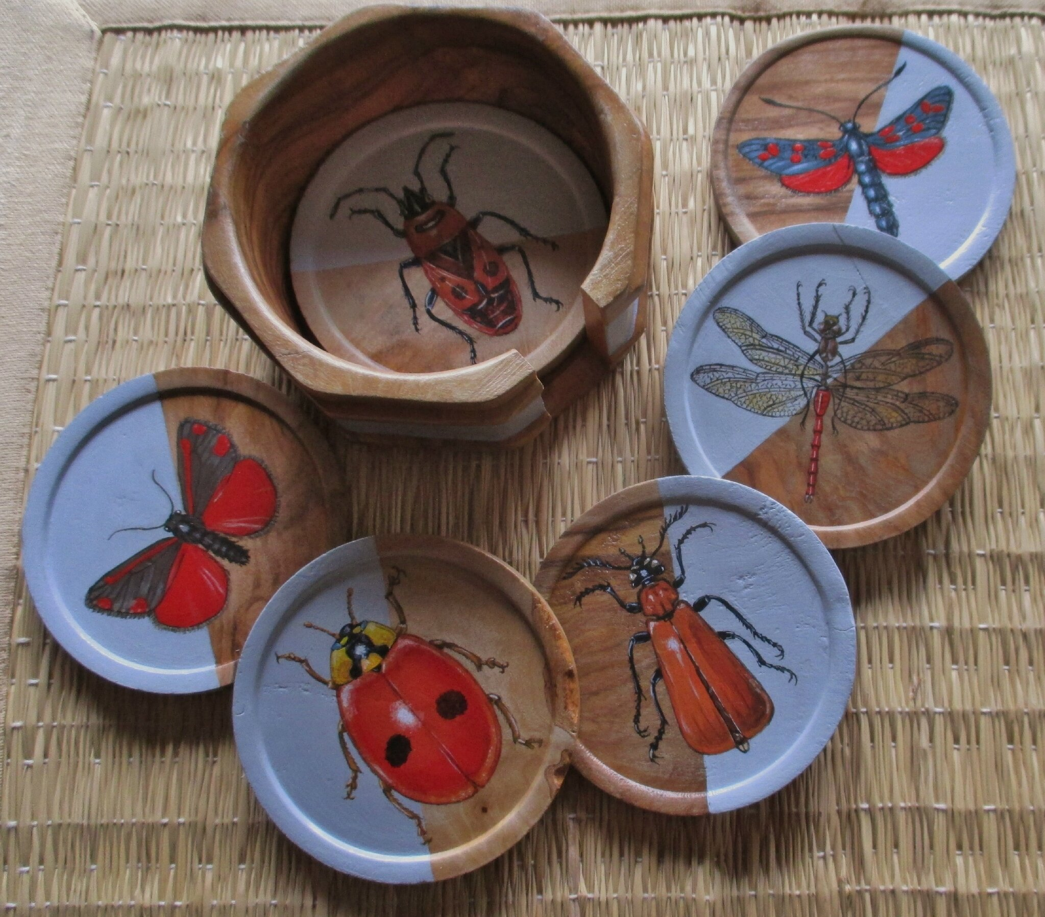 Insectes rouges