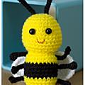 Tuto amigurumi : abeille