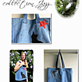 sac jeans chat femme
