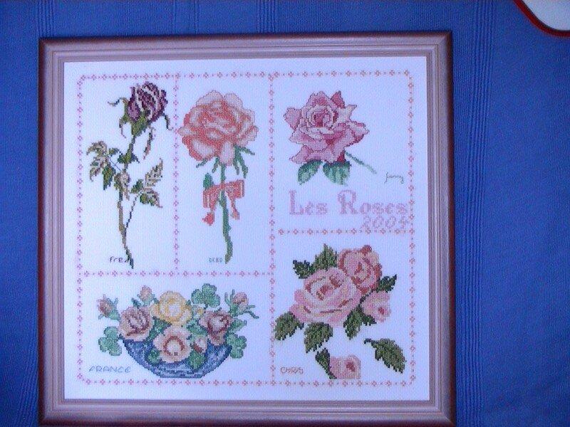 Mon premier RR thème les fleurs sous theme les roses