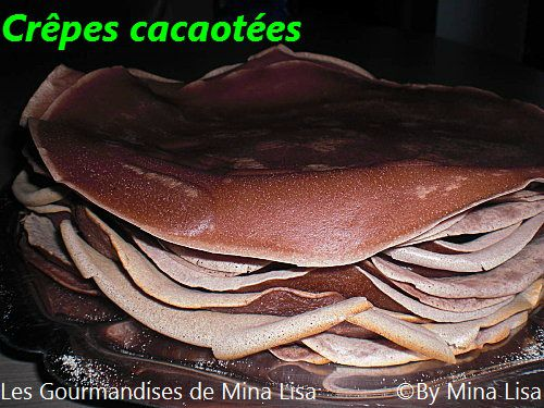 crêpes cacaotées